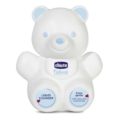 תחליב רחצה לתינוקות - Natural Sensation Teddy Bear Lquid Cleanser צ'יקו Chicco