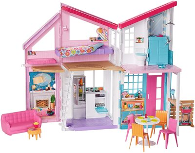 בית ברבי מאליבו Barbie Malibu House מפואר ומאובזר